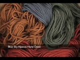 Blue Sky Alpacas Worsted Hand Dyes Review