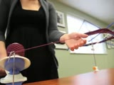How to use a Yarn Swift and Ball Winder