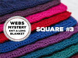 WEBS Mystery Knit-A-Long Square #3