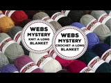 WEBS Mystery Knit-A-Long or Crochet-A-Long Blanket