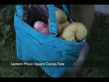 Lantern Moon Square Canvas Clip Bag Review
