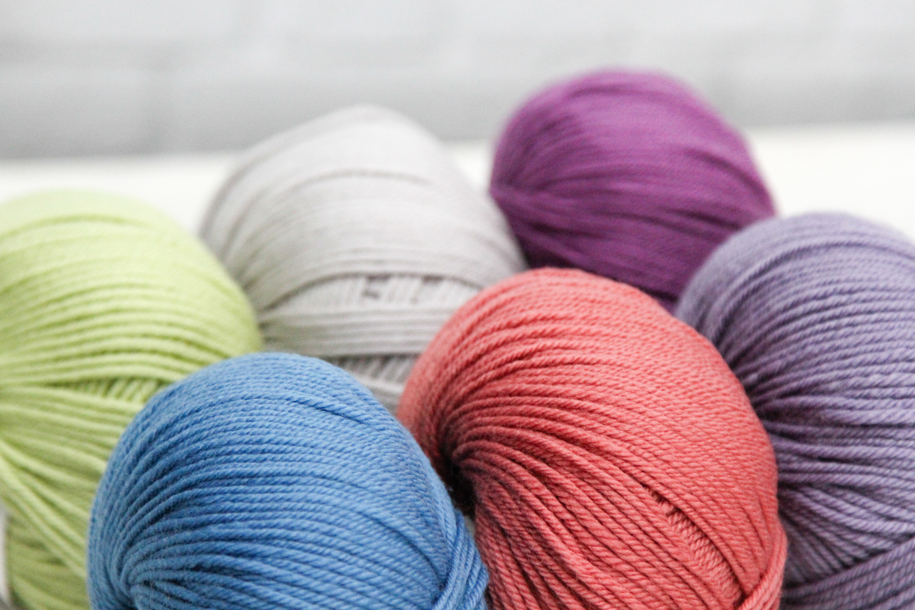 Sport & DK Weight Washable Baby Yarns